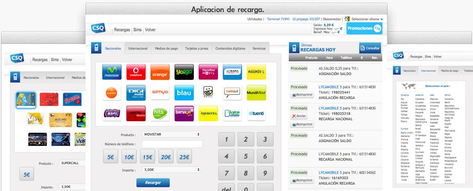 Recargaexpress nueva aplicación